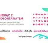 Logo miesiąc z wolontariatem